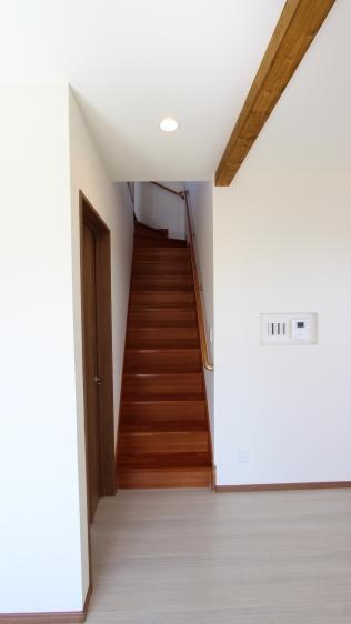 リビング階段へ間取り変更