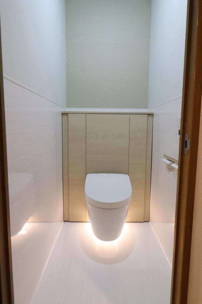 トイレ回りの掃除が楽々な素材
