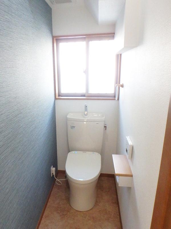 【トイレ】和式から洋式へ、使いやすくしました。