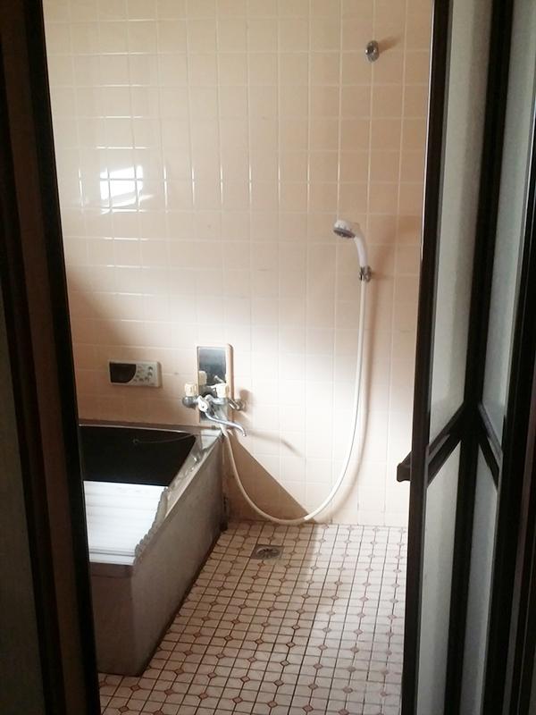 【浴室】補強工事を同時に行い、快適な浴室に!
