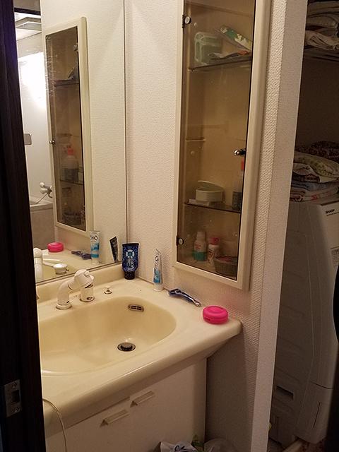 【洗面所】洗面台は収納力の高いトクラスのエポックを採用。