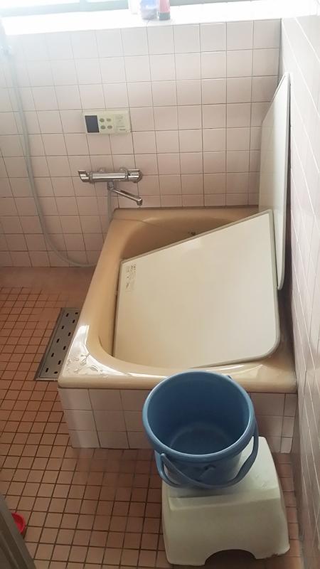 洗面所や洗濯機置場等と切り離し、ゆったりと使いやすくなりました。