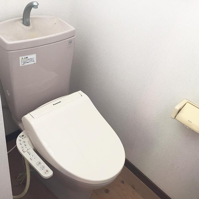 トイレも取り替えました。