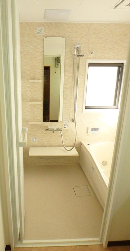【浴室】暖房換気乾燥機も設置して、1年中あったか浴室に♪