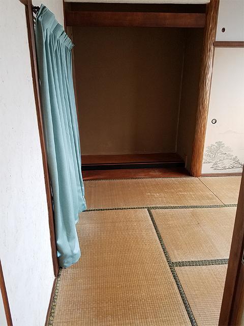 【和室】壁や畳も新調しました。